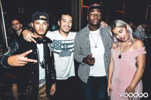 Home bar with DJ Aycuz and DJ K-Time